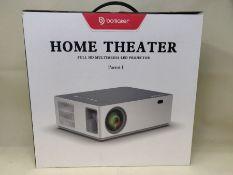 RRP £179.00 BOMAKER Projector, Native 1080P Projector, 6