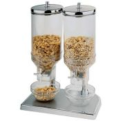 RRP £191.00 [CRACKED] APS CF268 Double Cereal Dispenser