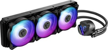 RRP £115.00 MSI MAG CORELIQUID 360R CPU AIO Cooler '360m