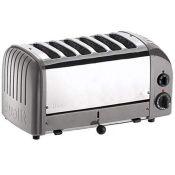 RRP £221.00 Dualit CD336 Vario Toaster, 6 Slices, Metall