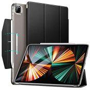 ESR Case Compatible with iPad Pro 12.9 Inch 2021 (5th Generation, 5G), Translucent Sta