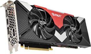 RRP £462.00 Palit NE62070020P2-1060A PCI-E RTX2070 DUAL 8GB DDR6
