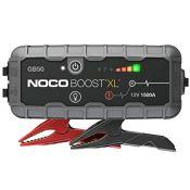RRP £145.00 NOCO Boost XL GB50 1500 Amp 12-Volt UltraSafe Portable Lithium Jump Starter, Car Batte