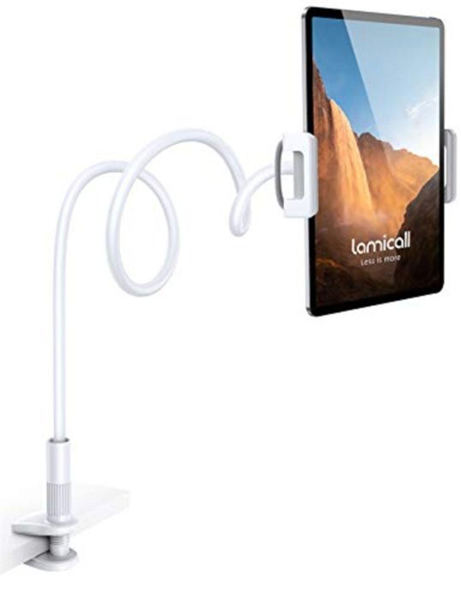 Lamicall Gooseneck Tablet Holder, Flexible Tablet Stand - 360 Adjustable Lazy Arm Hold