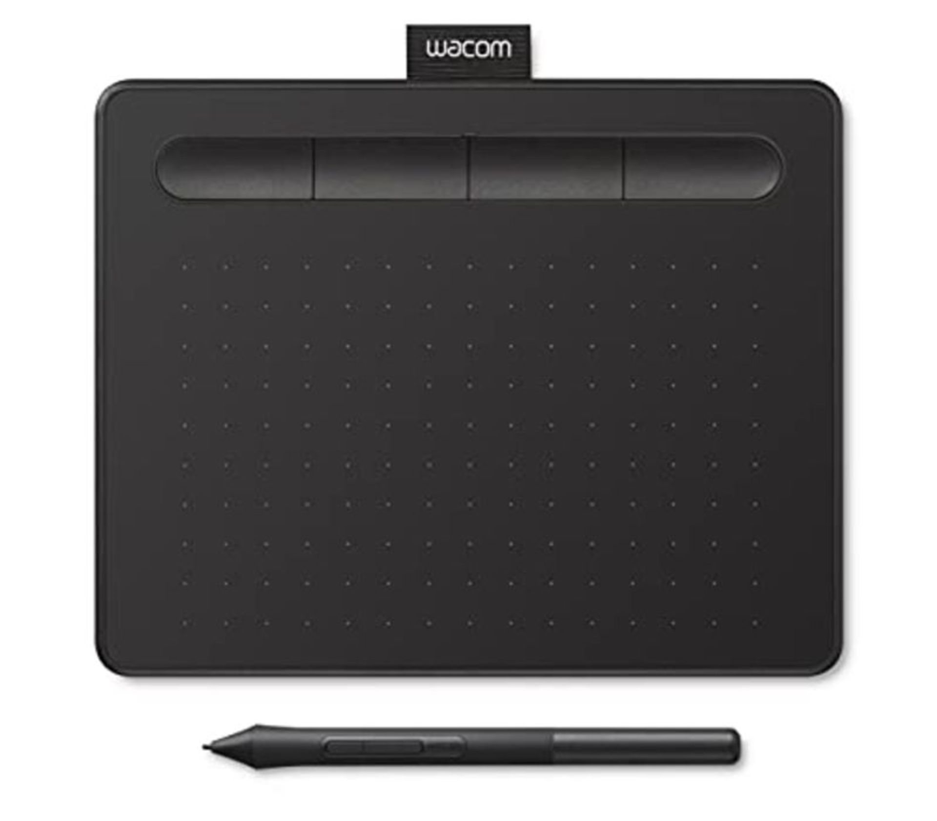RRP £59.00 Wacom Intuos Small Black, Graphic Tablet for Painting, Sketching and Photo Retouching