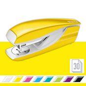 Leitz Stapler, 30 Sheet Capacity, Ergonomic Metal Body, Includes Staples, WOW Range, 5