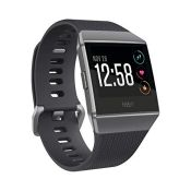 RRP £220.00 Fitbit Ionic Health & Fitness Smartwatch (GPS) with Heart Rate, Swim Tracking & Music