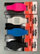 Quantity 189 X NEW OBJECT WATCHES BLACK- BLUE- PINK