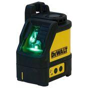 RRP £156.00 DEWALT DW088CG-XJ Green Beam Cross Line Laser with Carry Case, Yellow/Black