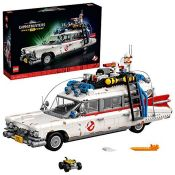 RRP £136.00 LEGO10274CreatorExpertGhostbustersECTO-1CarLargeSetforAdults,Col