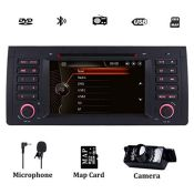 RRP £192.00 Car Stereo Radio for BMW E39 1995-2002 7Inch Sat Nav with DVD Player GPS Navigation Su