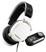 RRP £199.00 SteelSeries Arctis Pro + GameDAC Wired Gaming Headset - Certified Hi-Res Audio - Dedic