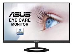 RRP £155.00 [CRACKED] ASUS VZ279HE 27 Inch Monitor, FHD (1920 x 1080), IPS, Ultra-Slim Design, HDM