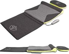 RRP £229.00 HoMedics Stretch Mat XS - Inspired by Yoga, Remote Control Adjustable Intensity, at Ho
