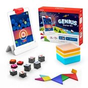 RRP £51.00 Osmo - Genius Starter Kit for iPad (New Version) - 5 Hands-On Learning Games - Ages 6-