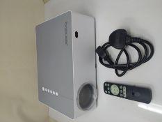 RRP £179.00 BOMAKER Projector, Native 1080P Projector, 6D Keystone Outdoor Movie Projector 7200 Su