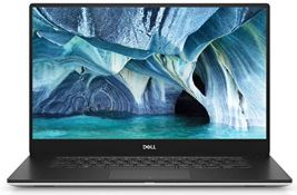 RRP £1405.00 Dell XPS 15 7000 15.6-inch UHD IPS OLED Infinity Laptop - (Silver) Intel Core i7-9750H