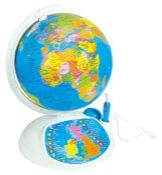 """RRP £62.00 Clementoni 61302 """"Explore the World! The Interactive Globe"""" Toy"""