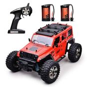 RRP £53.00 MKZDGM Remote Control High Speed RC Cars 4WD Rock Racer Off-Road 4x4 Electricÿ2.4Ghz