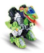 RRP £59.00 VTech Switch & Go Dinos Overseer the T-Rex Kids Toy, Interactive Preschool Dinosaur To