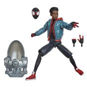 RRP £57.00 Hasbro Marvel Legends Series Spider-Man: Into the Spider-Verse Miles Morales 6-inch Co