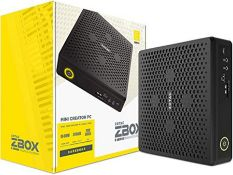 RRP £1261.00 Zotac ZBOX-EN72070V-BE Magnus EN72070V Mini Creator PC