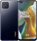 RRP £249.00 OPPO Reno4 Z 5G - 8 GB + 128 GB MediaTec 800 6.50 Inch 4000 mAh 48 MP Camera Sim Free