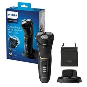 RRP £70.00 Philips Shaver Series 3000 with Powercut Blades, Wet & Dry Men's Electric Shaver with