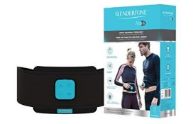 RRP £99.00 Slendertone Unisex's Abs8 Muscle Stimulation Belt, Black, 24 to 42 inches