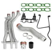 RRP £84.00 MSQ-CD Aluminum Engine Coolant Pipe Repair Upgrade Kit Compatible with Cayenne Turbo S