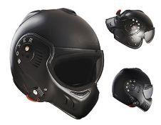 RRP £209.00 ROOF Helmet Boxer V8, Matt Black, Size XL
