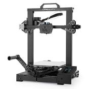 RRP £271.00 Official Creality CR-6 SE 3D Printer with 32 Bit Silent Mainboard, Auto Bed leveling,