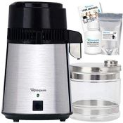 RRP £118.00 Water Distiller, 100% Stainless Steel, New Deluxe 2021 Machine by Make Water Pure