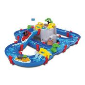 RRP £56.00 AquaPlay 8700001542 Waterway Table | Mountain Lake Water Play Canal System Toy with Lo