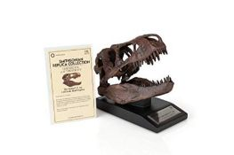 RRP £63.00 [CRACKED] The Nation's T-Rex Skull Statue | 6-Inch Smithsonian Fossil Replica| 1:10 Sc