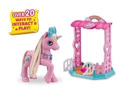 Pets Alive - My Magical Unicorn & Stable Playset - Pink