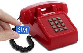 RRP £94.00 OPIS PushMeFon MOBILE: designer retro phone/classic keypad telephone/retro style phone