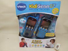 VTech KidiGear Walkie Talkies for Kids, Outdoor 65-foot Long Distance Walkie Talkies w
