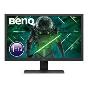 RRP £160.00 [CRACKED] BenQ GL2780 27 Inch 1080p 1 ms 75 Hz LED Eye-Care Gaming Monitor, Anti-Glare