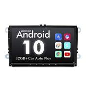 "RRP £221.00 eonon GA9453B Android 10 headunit 9"" LCD Car Stereos 32GB ROM DSP GPS Nav Sat compatib"
