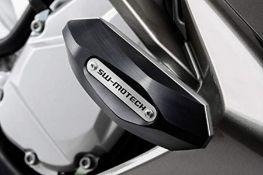 RRP £107.00 Slider Set for Frame SW-MOTECH Black. Yamaha Fjr 1300 (06-).