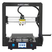 RRP £182.00 ANYCUBIC Mega S 3D Printer, UltraBase Heated Build Plate + Upgrade Extruder Support 1.