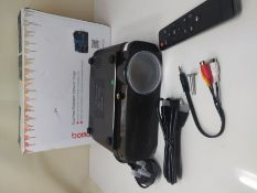RRP £120.00 BOMAKER WiFi Projector, 2021 Upgraded Portable Movie Projector, Full HD Native 720P Wi