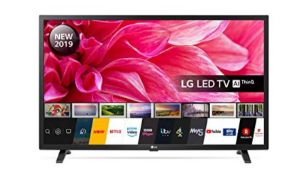 RRP £187.00 [BROKEN SCREEN] LG Electronics 32LM630BPLA.AEK 32-Inch HD Ready Smart LED TV with Free