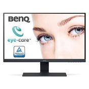 RRP £160.00 [BROKEN SCREEN] BenQ GW2780 27 Inch 1080p Eye Care LED IPS Monitor, Anti-Glare, HDMI,