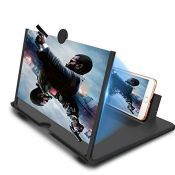 Newseego 14 inch Phone Screen Magnifier, Mobile Phone Amplifier with Folding Stand Hol