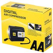 AA 12V Digital Tyre Inflator AA5502  For Cars Other Vehicles Inflatables Bicycles -