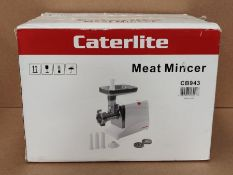 RRP £146.00 Caterlite Meat Grinder 430X420X170mm Mincer Electric Restaurant Commercial