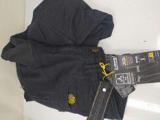 RRP £142.00 Trilobite Motorrad Herren Jeans Parado, schwarz, 30W/32L