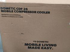 RRP £399.00 DOMETIC CoolFreeze CDF 26 Portabe Compressor Cooler and Freezer, 21 Litre 12/24 V